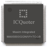 MAX9300GGN/VY+TGGB Quick Quote & Ship, MAX9300GGN/VY+TGGB